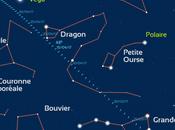 Observez comète dans ciel d'avril