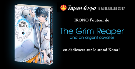 La mangaka IRONO (The Grim Reaper and an Argent Cavalier) invitée de Japan Expo 2017