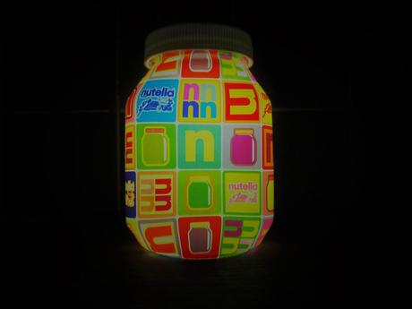 Nutella lampe tactile pop objet collector gratuit
