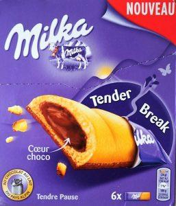 Milka Tender Break Biscuits chocolat au lait