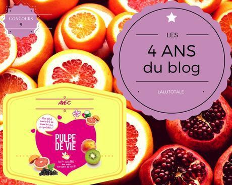 🍊4 ans du blog 🍋 Le plaisir extrême des fruits frais avec les cosmétos bio Pulpe de Vie !
