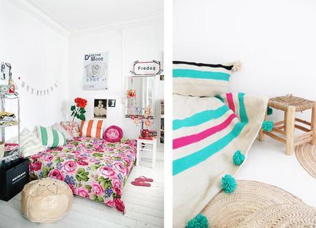 De la couleur par dessus le lit | Project Inside