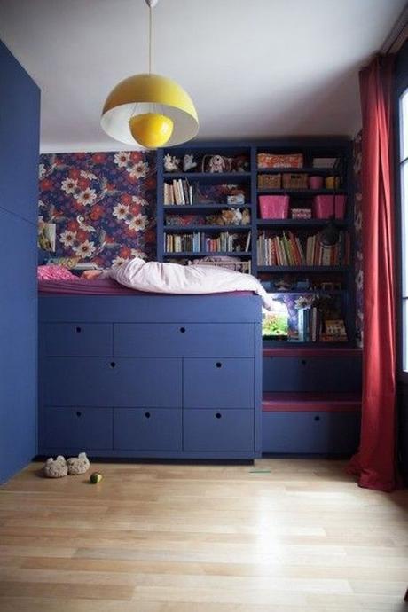 optimiser le rangement dans la chambre des enfants paperblog. Black Bedroom Furniture Sets. Home Design Ideas