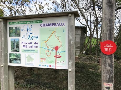 Le circuit de Mélusine à Champeaux (79)