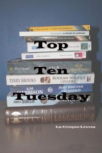 Top Ten Tuesday: Les 10 choses qui font que j'ai envie de lire un livre