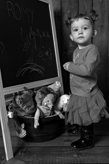 Séance photo enfant