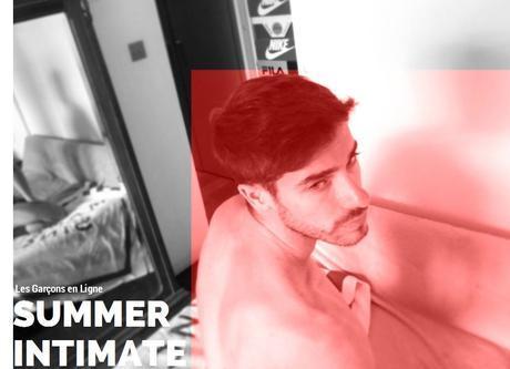 LES GARCONS EN LIGNE: SUMMER INTIMATE 17