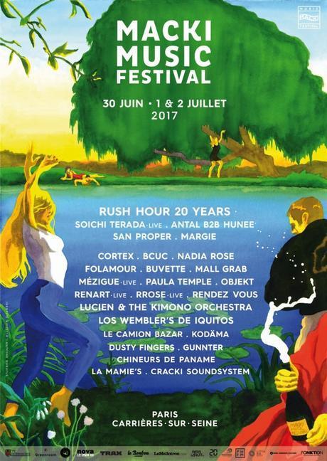 Affiche Officiel du Macki 2017