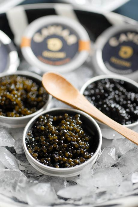 Caviar et vodka…