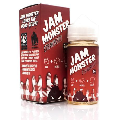 [Liquide] Test du Strawberry de Jam Monster