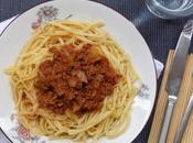 Spaguettis bolognaise