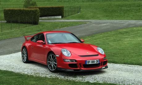 Porsche 911 997 GT3 3.6L dans le Vercors