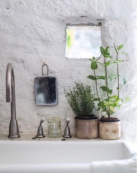 collection pots en grès vintage lovmint