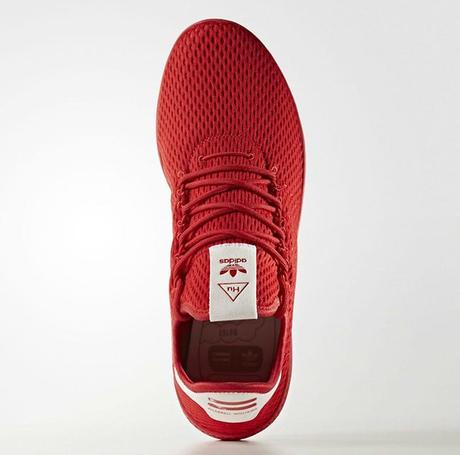 Pharrell x Adidas Tennis HU Red