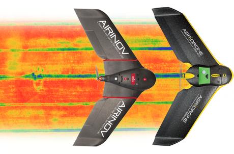 Parrot dévoile le Bebop Pro et le Disco AG doté de solution d'imagerie thermique