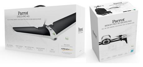 Parrot Disco AG + Bebop Proavec caméra thermique