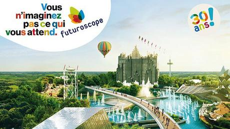 Le 21 Mai, je serai à l'Happy Color Run pour les 30 ans du Futuroscope !