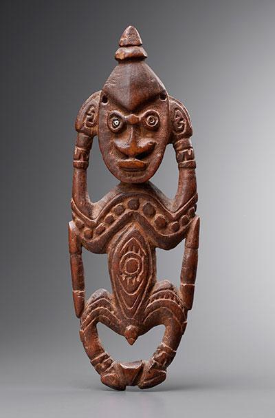 Amulette-Sepik-Papouasie