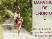 Marathon l'Hortus billet illustré bonne humeur
