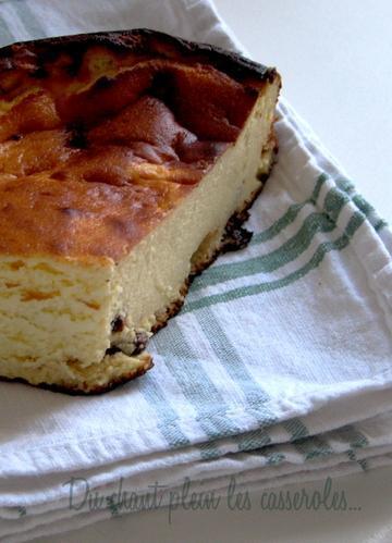 Le sernik, déclinaison polonaise du cheesecake (avec un lamento sur le bruit à Paris)
