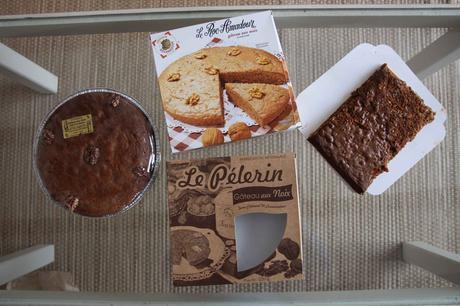 Gâteau de noix, huile de noix & Quinqui