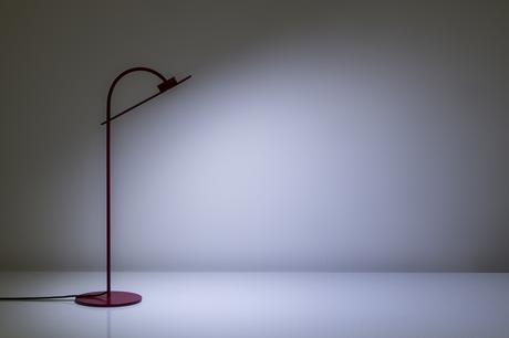 Flamingo, la lampe de table de Mario Alessiani