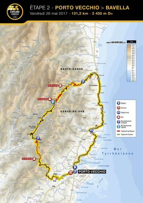 Présentation ETAPE 2 – Explore Corsica 2017