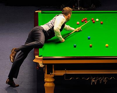 Le snooker, un jeu de billard so british