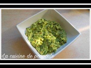 Pesto de blette au thermomix ou sans