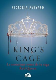 Red queen #3 King's cage de Victoria Aveyard