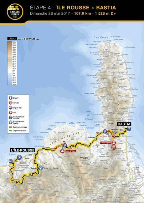 Présentation ETAPE 4 – Explore Corsica 2017
