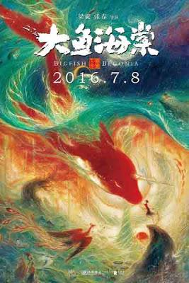 Big Fish & Begonia - Da Yu Hai Tang, Liang Xuan and Zhang Chun (2016)