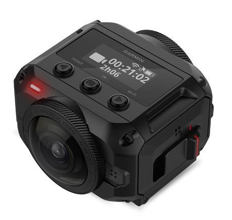 Garmin dévoile sa première caméra 360 degrés pour une immersion totale