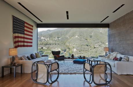 Californie, la maison du canyon