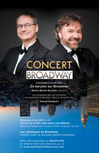 Un baryton sur Broadway- Affiche