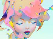 Peintures digitales colorées Christian Orrillo