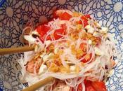Salade Thaï écrevisses