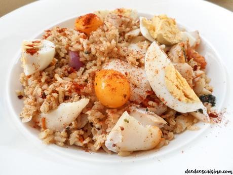 kedgeree riz au haddock recette