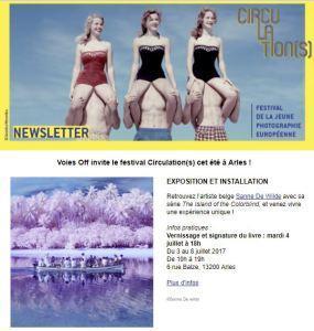 Festival « Circulation(S) ARLES 2017   Festival de la jeune photographie Européenne