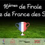 16èmes de finale – Coupe de France des Sports