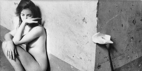 francesca woodman, photography, surrealist, fluxus, nude, henri-cartier-bresson, exhibition, paris, france, 2016, on-being-an-angel