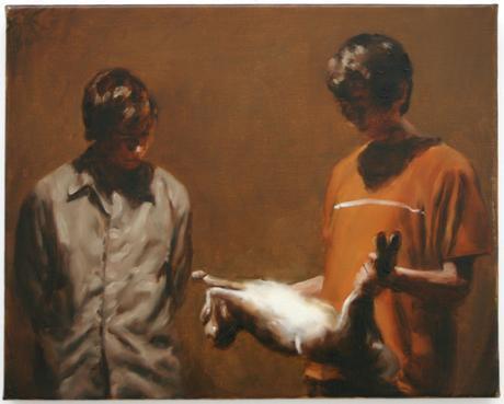 peinture et langage, michael borremans