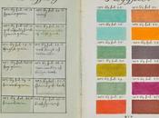 avant premier nuancier Pantone, artiste répertoria toutes couleurs dans ouvrage pages!