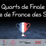 Quarts de finale – Coupe de France des Sports