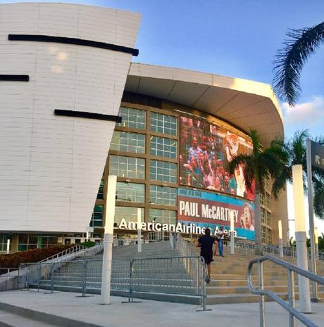 L'American Airlines Arena attend Paul ! #paulmccartney #oneonone