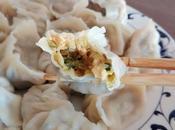 Jiaozi courgettes confites 西葫芦鸡蛋饺