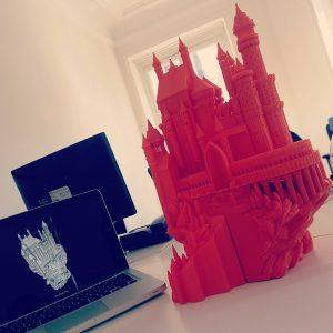 exemple du chateau 3D