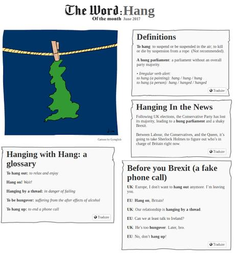 The Word of the Month (JUNE 2017): HANG