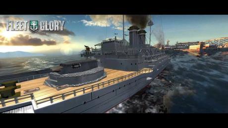 Fleet Glory le jeu de bataille navale débarque sur mobiles sort aujourd'hui