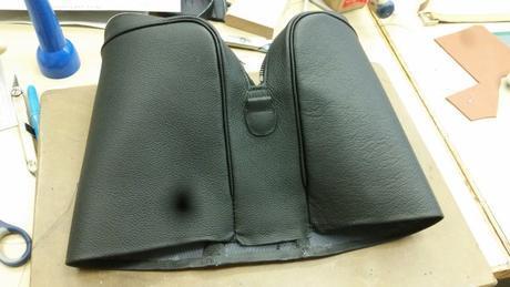 Comment se construit un sac en cuir